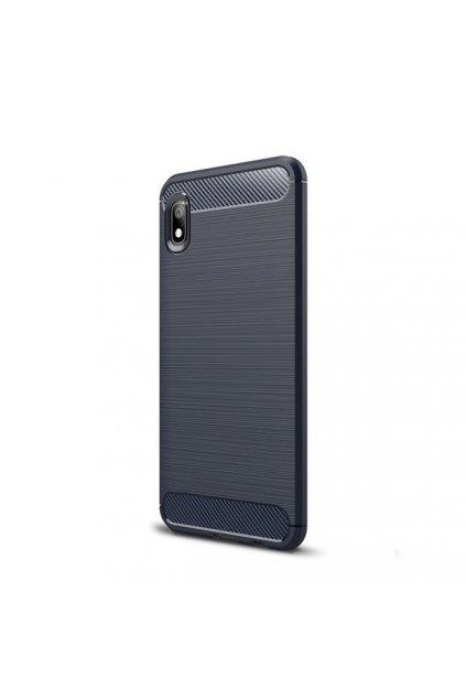 eng pl Carbon Case Flexible Cover TPU Case for Xiaomi Redmi 7A blue 51347 1