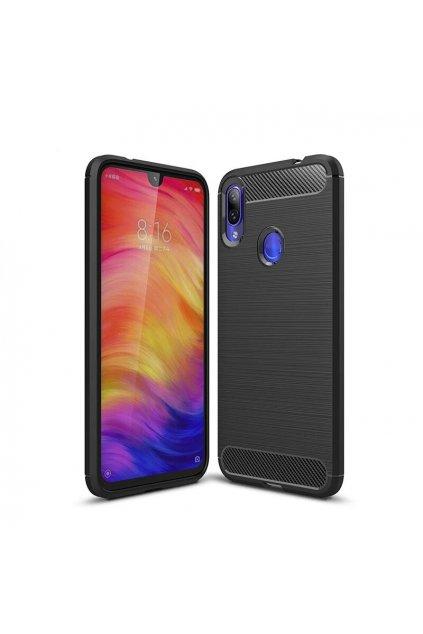 eng pl Carbon Case Flexible Cover TPU Case for Xiaomi Redmi Note 7 black 47099 1
