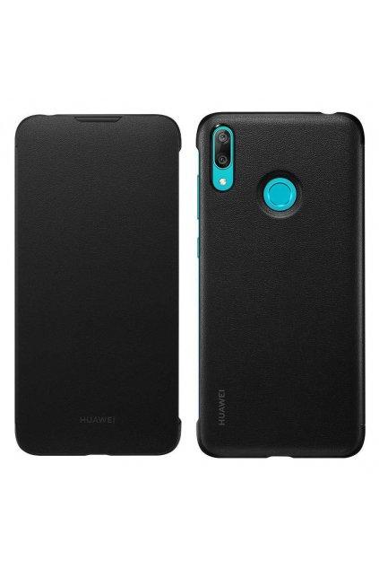 eng pl Huawei etui flip cover do Y7 2019 czarne 49400 1