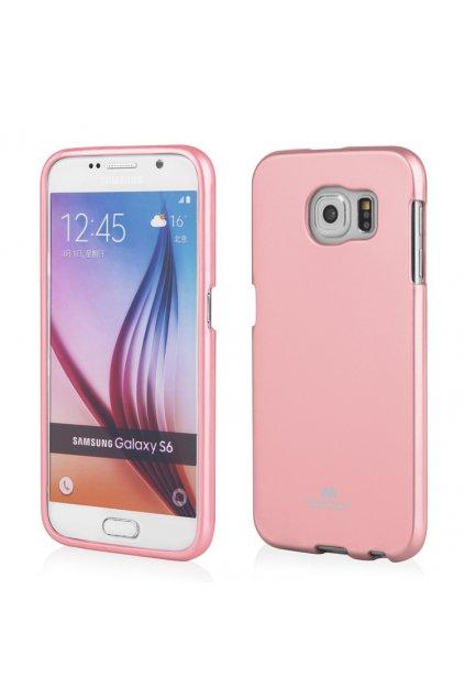 Perleťový kryt na Sony L1 světle růžový