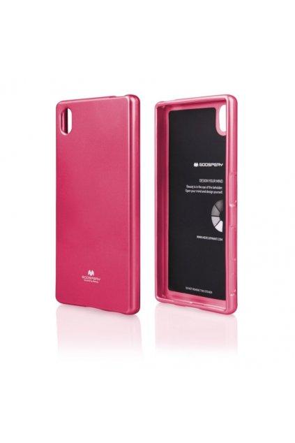 Perleťový kryt na Sony XA1 růžový