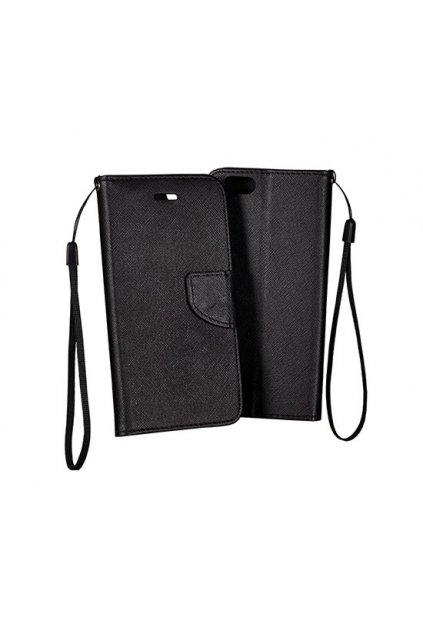 PU kožené pouzdro na Nokia 6 černé