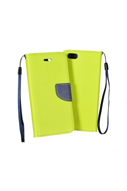 PU kožené pouzdro na Nokia 8 světle zelené