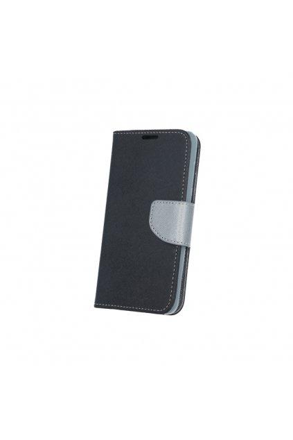 PU kožené pouzdro na Samsung A7 2017 a stříbrnéčerné