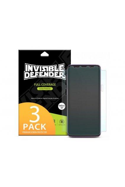 Ringke Invisible Defender 3x ochranná fólia displeja na Samsung Galaxy S8 Plus - kompatibilná s krytmi