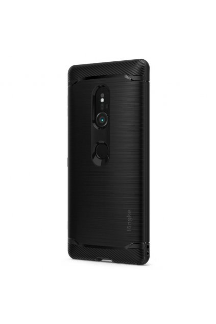 eng pl Ringke Onyx Durable TPU Case Cover for Sony Xperia XZ2 black OXSN0001 RPKG 40158 2