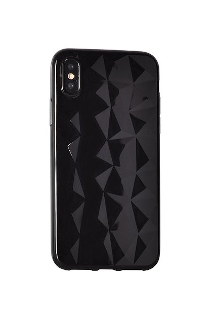 Diamantový siliknový kryt černý