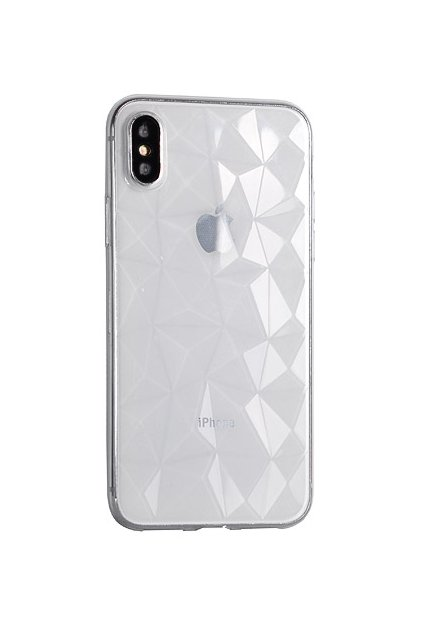 14010 silikonovy diamantovy kryt na iphone 7 iphone 8 transparentni