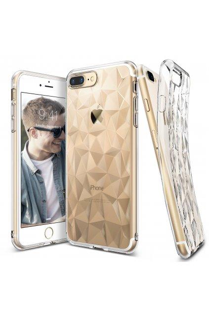 Diamantový siliknový kryt na honor 9 lite apple