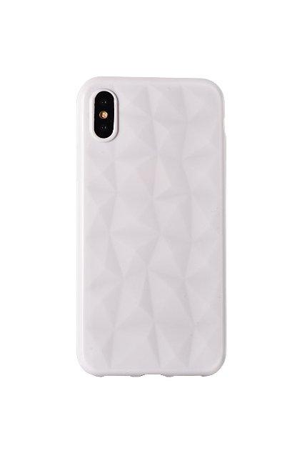 Diamantový siliknový kryt na bílý