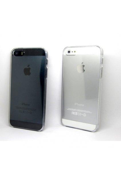 132 silikonovy transparentni kryt na iphone 5 5s iphone se
