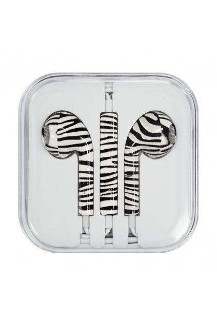 eng pl Headphones with microphone iPhone iPad iPod zebra Style 1 48794 2