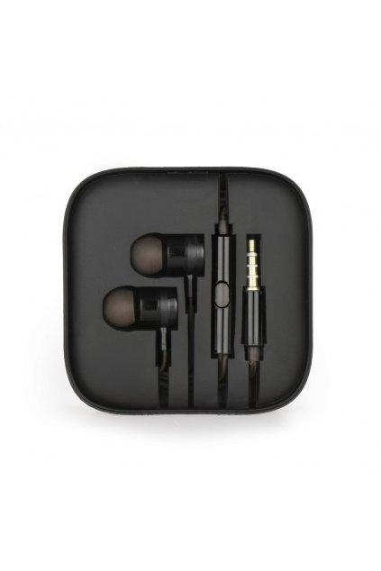 Sluchátka stereo metal MI černé