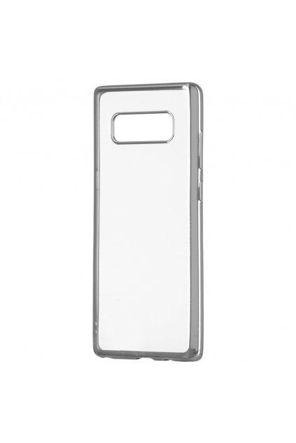 TPU ultratenký kryt na Samsung Galaxy Note 8 stříbrný 1