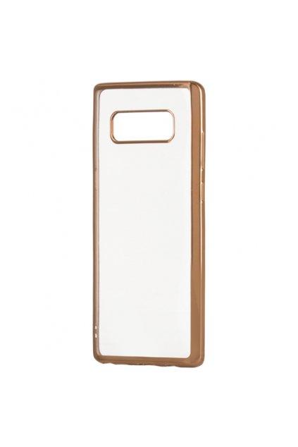 TPU ultratenký kryt na Samsung Galaxy Note 8 zlatý 1