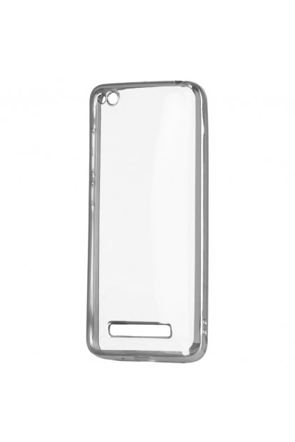 TPU silikonový kryt na Xiaomi redmi 4a stříbrný