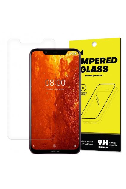 eng pl Wozinsky Tempered Glass 9H Screen Protector for Nokia 8 1 Nokia X7 packaging envelope 46585 2