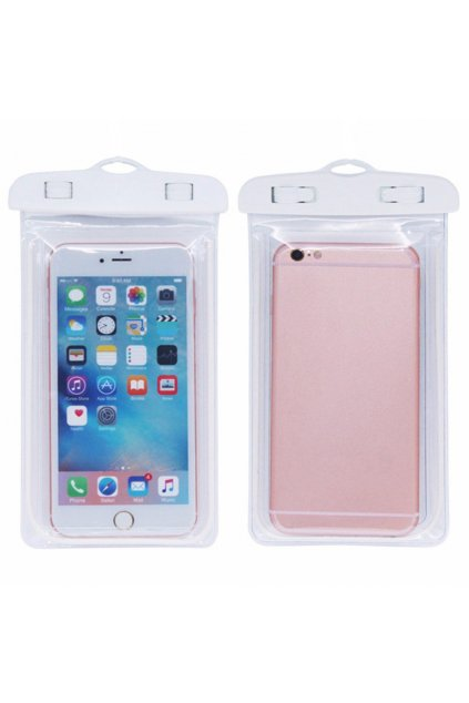 eng pl Armband 5 5 waterproof universal case transparent white 15640 7