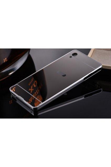 Zrcadlový kryt Sony Xperia M4 Aqua černý