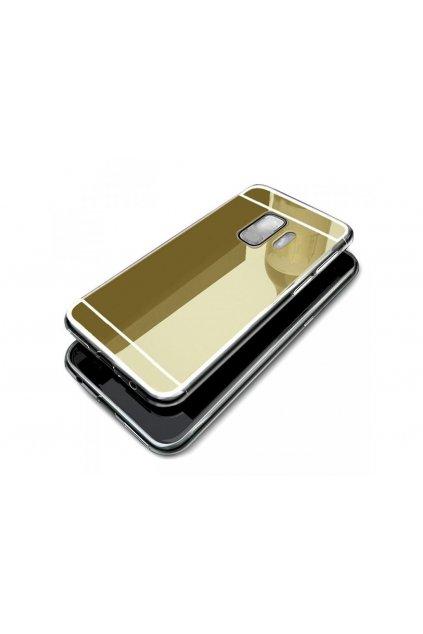 994 zrcadlovy silikonovy kryt na huawei p8 lite zlaty