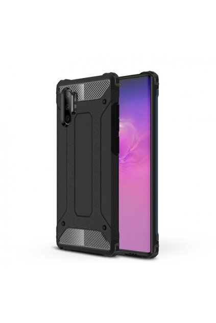 eng pl Hybrid Armor Case Tough Rugged Cover for Samsung Galaxy Note 10 Plus black 52369 1