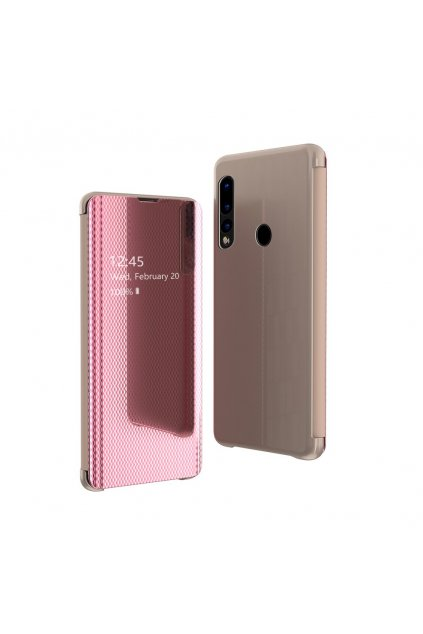 eng pl Flip View cover for Huawei P30 Lite pink 52961 1