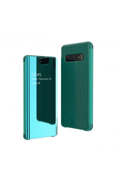 eng pl Flip View cover for Samsung Galaxy S10 Plus green 52967 1