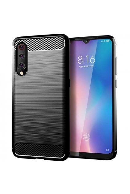 eng pl Carbon Case Flexible Cover TPU Case for Xiaomi Mi A3 Xiaomi Mi CC9E black 52067 1