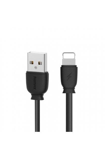 eng pl Remax Suji RC 134i USB Lightning Cable 2 1A 1M black 46189 1
