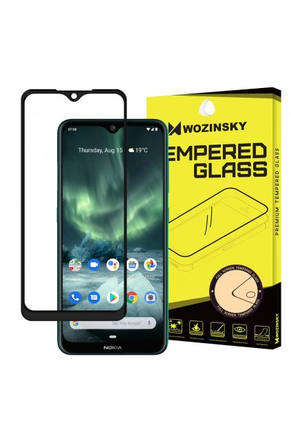 eng pl Wozinsky Tempered Glass Full Glue Super Tough Screen Protector Full Coveraged with Frame Case Friendly for Nokia 7 2 Nokia 6 2 black 54850 1