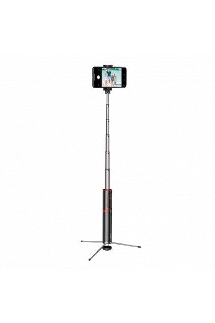 eng pl Baseus Selfie Stick Tripod Telescopic Stand Bluetooth red SUDYZP D19 51500 2