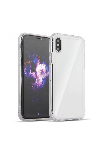 eng pl Clear Armor PC Case with TPU Bumper for LG G8 ThinQ transparent 50957 1