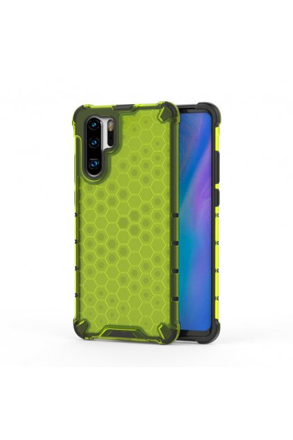 eng pl Honeycomb Case armor cover with TPU Bumper for Huawei P30 Pro green 53881 1