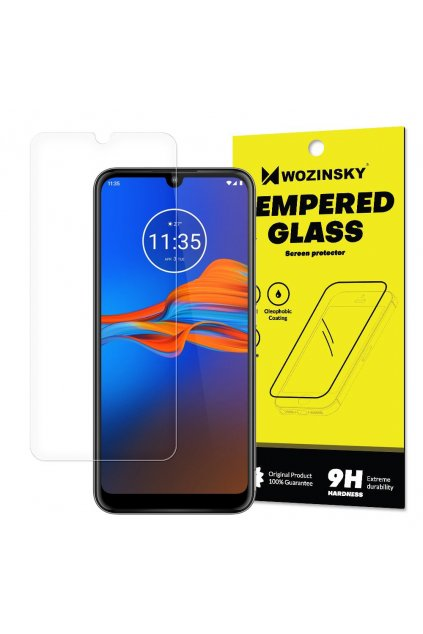 eng pl Tempered Glass 9H Screen Protector for Motorola Moto E6 Plus packaging envelope 55461 1