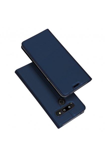 eng pl DUX DUCIS Skin Pro Bookcase type case for LG G8 ThinQ blue 49458 1