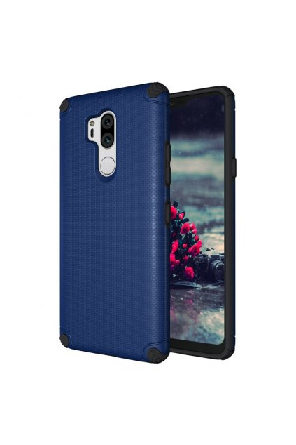 eng pl Light Armor Case Rugged Durable PC Cover for LG G7 ThinQ navy blue no metal plate 40706 1