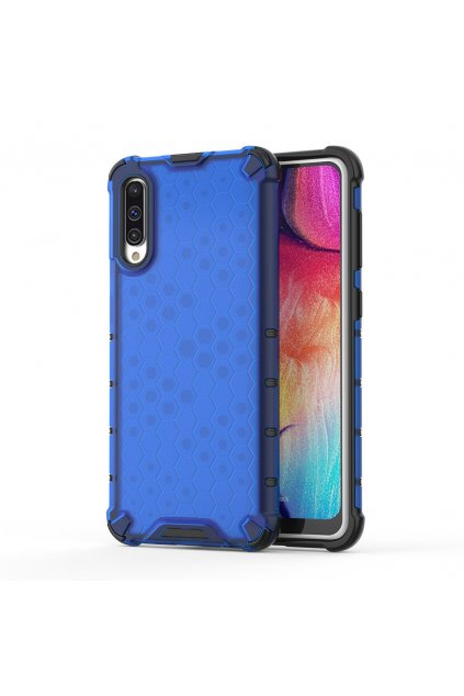 eng pl Honeycomb Case armor cover with TPU Bumper for Samsung Galaxy A50 blue 53840 1