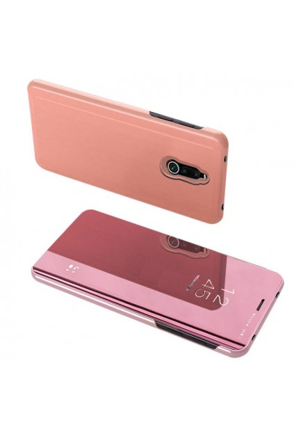 eng pl Clear View Case cover for Xiaomi Redmi 8 pink 55592 1
