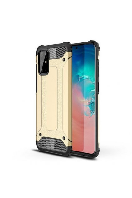 eng pl Hybrid Armor Case Tough Rugged Cover for Samsung Galaxy S20 Ultra golden 56267 1