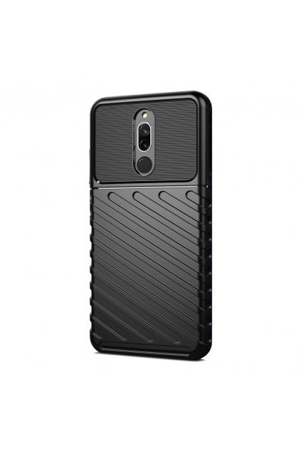 eng pl Thunder Case Flexible Tough Rugged Cover TPU Case for Xiaomi Redmi 8 black 56378 1