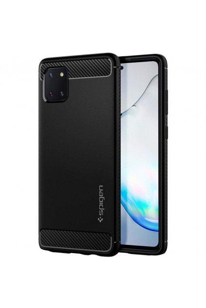 eng pl Spigen Rugged Armor Galaxy Note 10 Lite Matte Black 57809 1