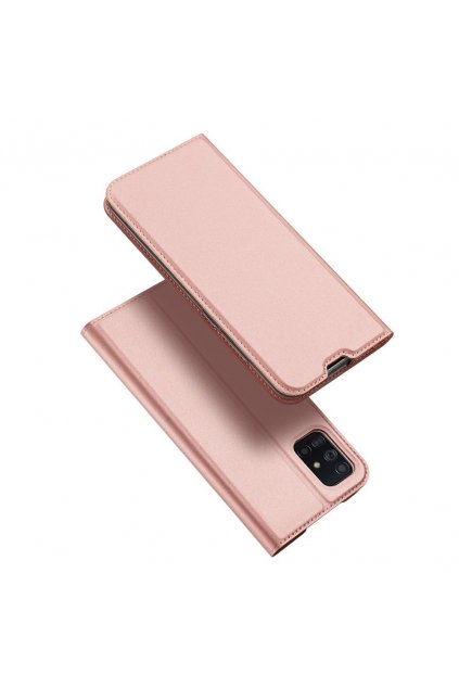 eng pl DUX DUCIS Skin Pro Bookcase type case for Samsung Galaxy A71 pink 56441 1