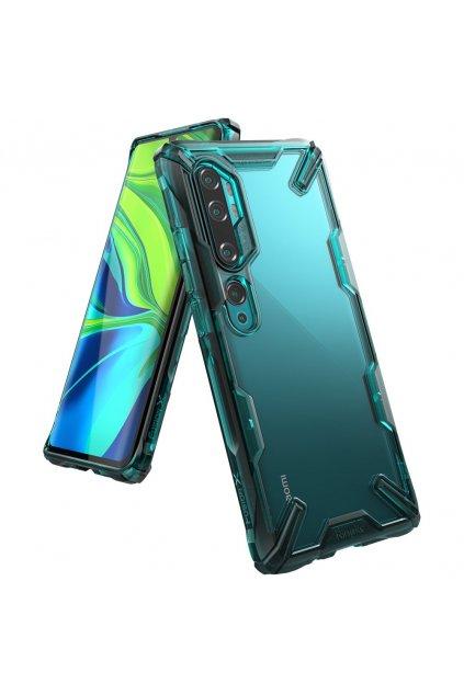 eng pl Ringke Fusion X durable PC Case with TPU Bumper for Xiaomi Mi Note 10 Mi Note 10 Pro Mi CC9 Pro green FXXI0016 57011 1