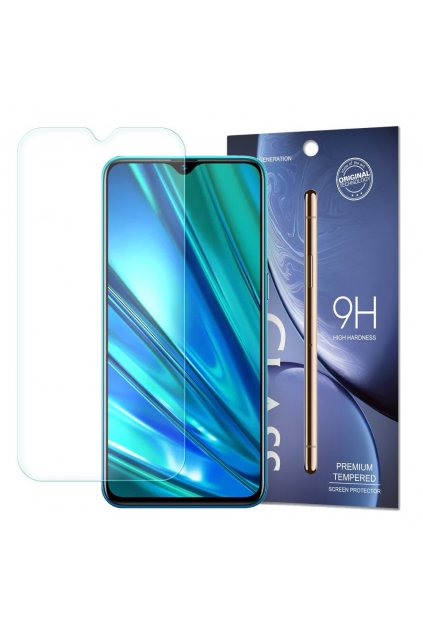 eng pl Tempered Glass 9H Screen Protector for Realme 5 Pro packaging envelope 56703 1