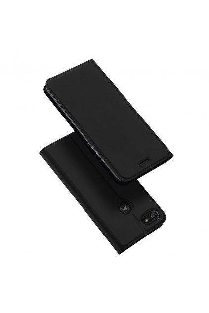 eng pl DUX DUCIS Skin Pro Bookcase type case for Motorola Moto E6 Play black 56445 1