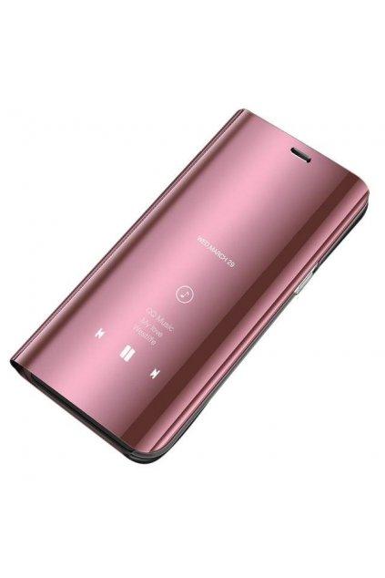 pol pl Clear View Case futeral etui z klapka Huawei P30 Lite rozowy 48439 1