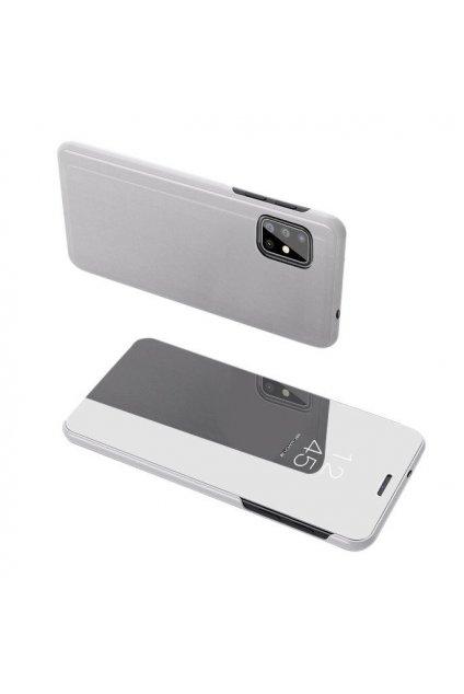 pol pl Clear View Case futeral etui z klapka Samsung Galaxy A71 srebrny 56577 1