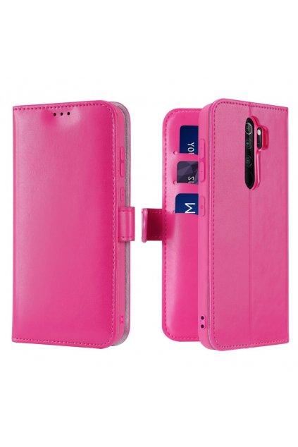eng pl Dux Ducis Kado Bookcase wallet type case for Xiaomi Redmi Note 8 Pro pink 55101 1
