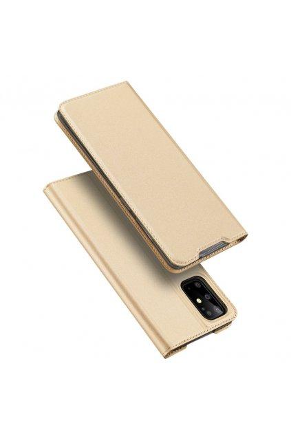 eng pl DUX DUCIS Skin Pro Bookcase type case for Samsung Galaxy S20 Plus golden 56424 1