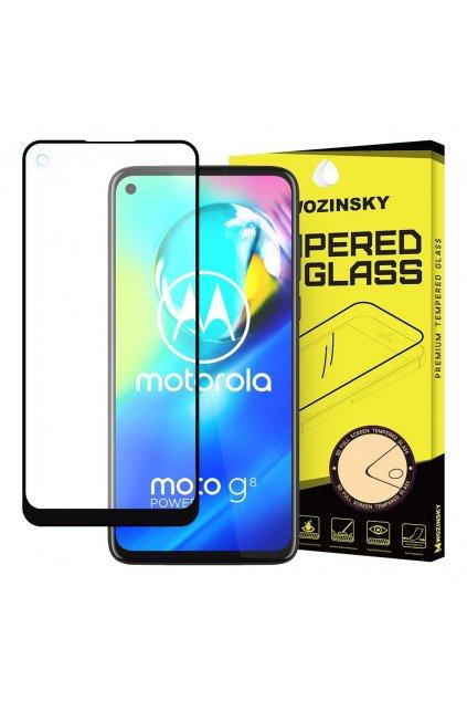 pol pl Wozinsky super wytrzymale szklo hartowane Full Glue na caly ekran z ramka Case Friendly Motorola Moto G8 Power czarny 59626 1